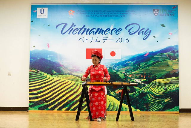 Tưng bừng Ngày hội Việt Nam 2016 tại Okayama, Nhật Bản - Ảnh 1.