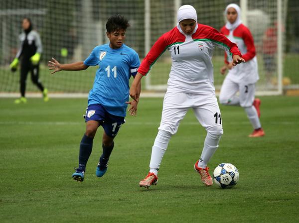 Vòng loại giải U19 nữ châu Á 2017: Ấn Độ chia điểm với Iran trận mở màn - Ảnh 2.