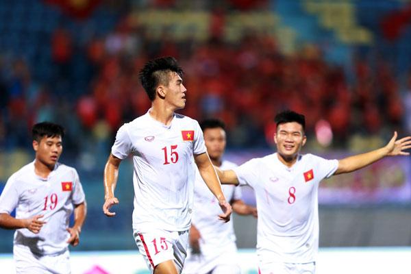 VIDEO U19 Việt Nam 4-1 U19 Timor Leste: Giải tỏa cơn khát - Ảnh 2.