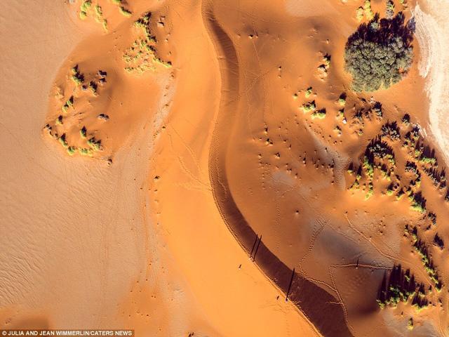 Khó tin với vẻ đẹp bất tận của cồn cát ở Namibia - Ảnh 3.