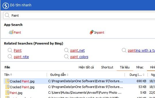 Phần mềm giúp tìm kiếm dữ liệu tức thời trên máy tính - Ảnh 3.