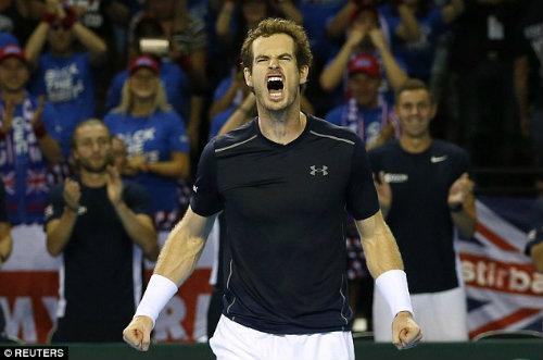 Anh em Murray giúp VQ Anh tạm thoát hiểm ở Davis Cup  - Ảnh 3.