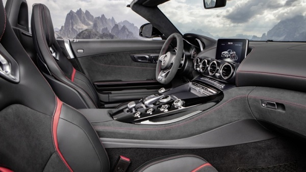 Mercedes-AMG GT Roadster 2017 ra mắt với 2 phiên bản mới - Ảnh 3.
