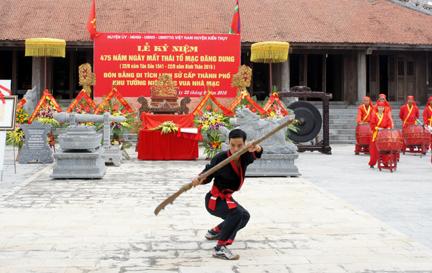 Kỷ niệm 475 năm ngày mất Thái Tổ Mạc Đăng Dung - Ảnh 3.