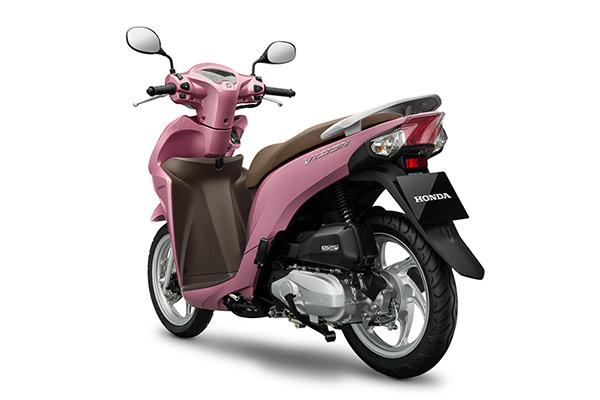 Honda Vision có thêm màu hồng - Ảnh 3.