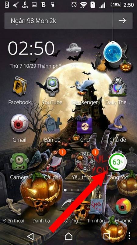 """""""Hóa trang"""" cho smartphone để đón Halloween với bộ giao diện cực độc đáo - Ảnh 4."""