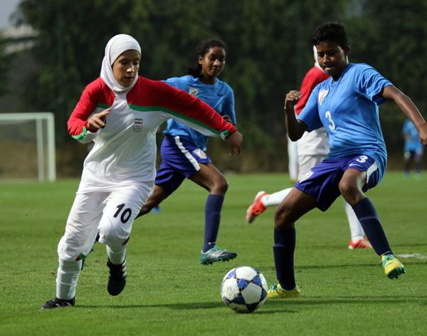 Vòng loại giải U19 nữ châu Á 2017: Ấn Độ chia điểm với Iran trận mở màn - Ảnh 3.