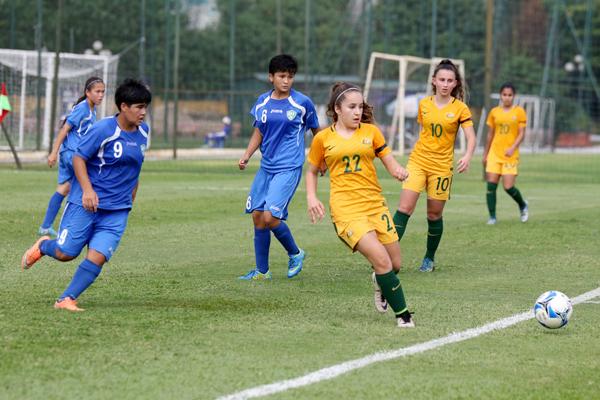 U16 nữ Việt Nam chia tay vòng loại giải châu Á 2017 bằng trận thắng 5-0 - Ảnh 4.