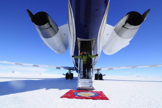 Ngỡ ngàng khách sạn siêu sang ở Nam Cực - Ảnh 4.