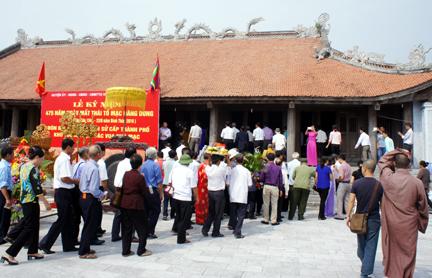Kỷ niệm 475 năm ngày mất Thái Tổ Mạc Đăng Dung - Ảnh 4.
