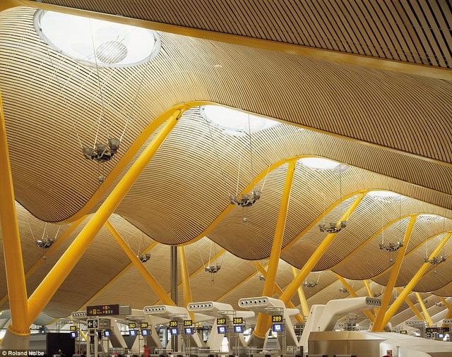 Những sân bay ấn tượng khiến du khách dù bị trễ chuyến cũng thấy... vui lòng - Ảnh 5.