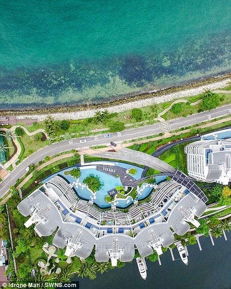 Ngắm Singapore rất lạ nhìn từ trên cao - Ảnh 5.
