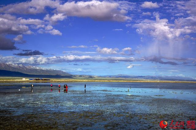 Hồ nước mặn Chaka - Tấm gương của bầu trời - Ảnh 5.