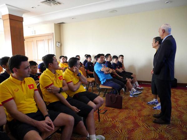 ĐT Futsal Việt Nam luyện vũ khí bí mật trước thềm World Cup 2016 - Ảnh 4.