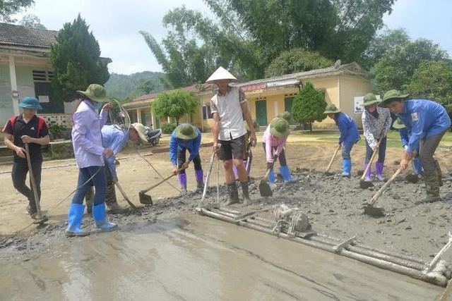 Mùa Hè xanh giàu ý nghĩa của SV tình nguyện ĐH Nông Lâm Thái Nguyên - Ảnh 5.