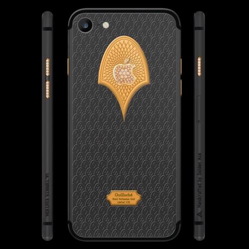 Ngắm nhìn bộ đôi iPhone 7 gây sốt qua họa tiết Guilloché - Ảnh 3.