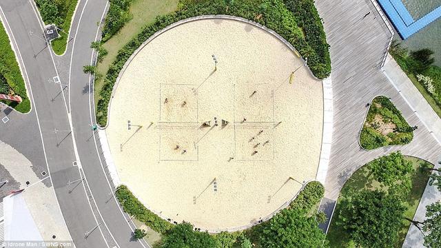 Ngắm Singapore rất lạ nhìn từ trên cao - Ảnh 6.