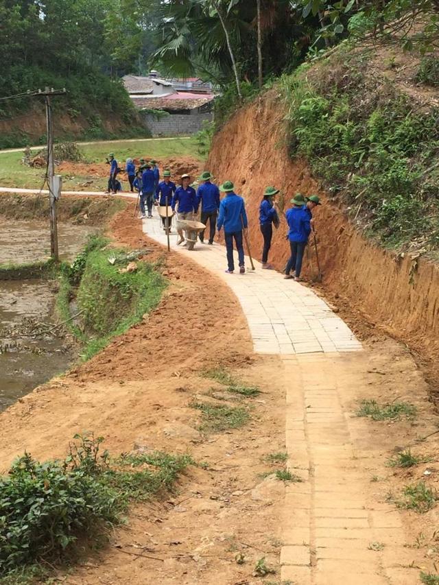 Mùa Hè xanh giàu ý nghĩa của SV tình nguyện ĐH Nông Lâm Thái Nguyên - Ảnh 6.