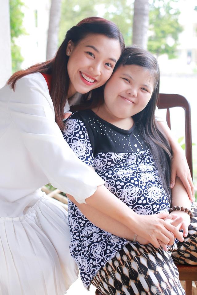 Á hậu Hoàng Oanh, Thuỳ Dung mang trung thu về với trẻ khuyết tật Tây Ninh - Ảnh 6.