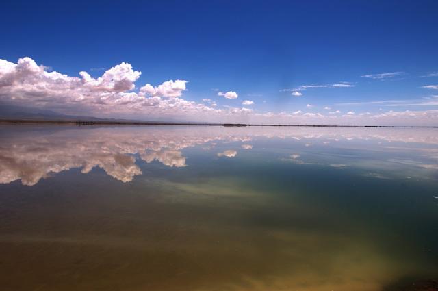 Hồ nước mặn Chaka - Tấm gương của bầu trời - Ảnh 7.