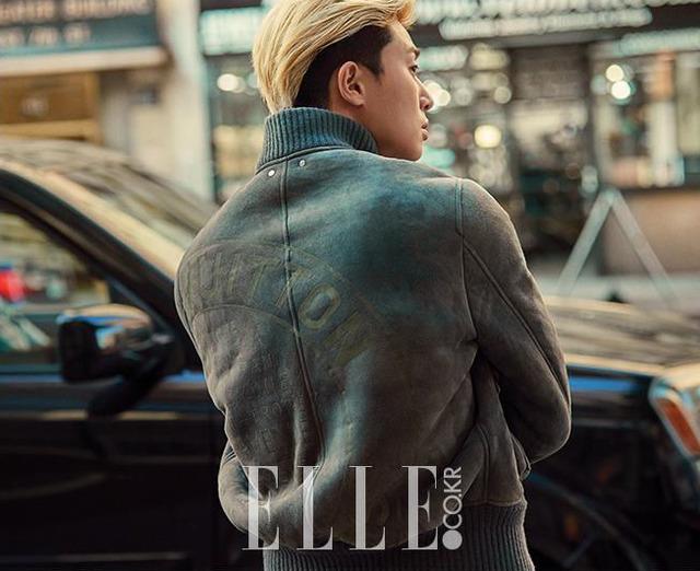 Mỹ nam Park Seo Joon cực chất với mái tóc vàng lãng tử - Ảnh 1.