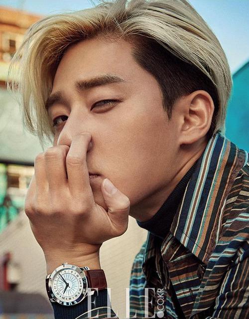 Mỹ nam Park Seo Joon cực chất với mái tóc vàng lãng tử - Ảnh 3.