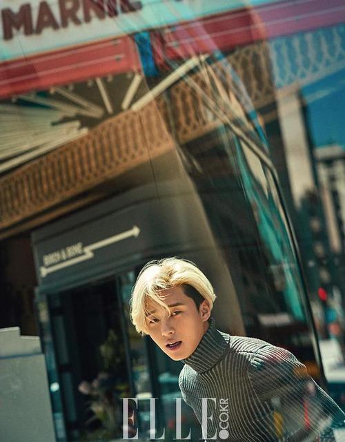 Mỹ nam Park Seo Joon cực chất với mái tóc vàng lãng tử - Ảnh 4.