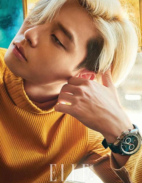 Mỹ nam Park Seo Joon cực chất với mái tóc vàng lãng tử - Ảnh 6.