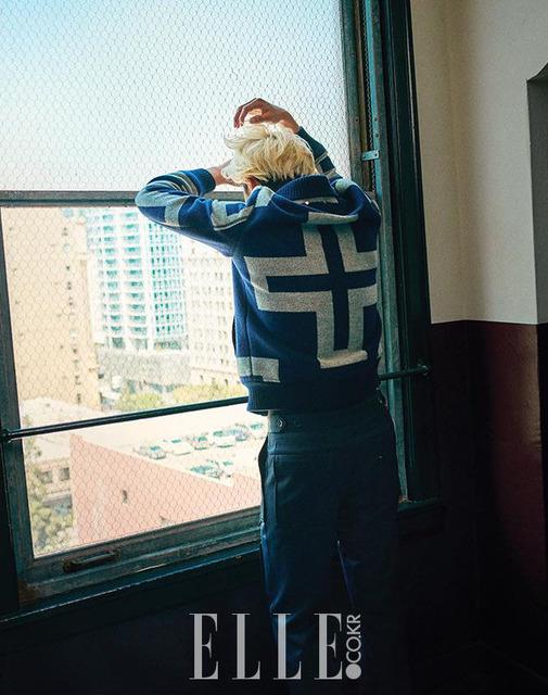 Mỹ nam Park Seo Joon cực chất với mái tóc vàng lãng tử - Ảnh 7.