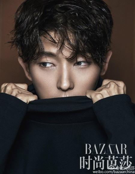 Lee Jun Ki lạnh như băng trên tạp chí Harper Bazaar - Ảnh 1.