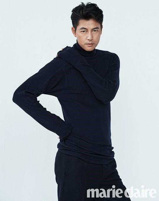 Jung Woo Sung mạnh mẽ, cuốn hút trên bìa Marie Claire - Ảnh 2.