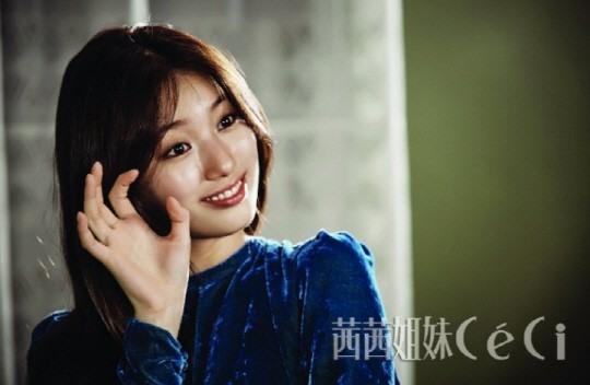 Suzy hóa cô gái tinh nghịch trên tạp chí Ceci - Ảnh 2.