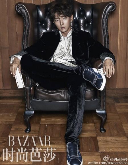Lee Jun Ki lạnh như băng trên tạp chí Harper Bazaar - Ảnh 2.