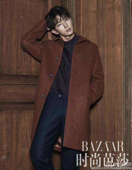 Lee Jun Ki lạnh như băng trên tạp chí Harper Bazaar - Ảnh 3.