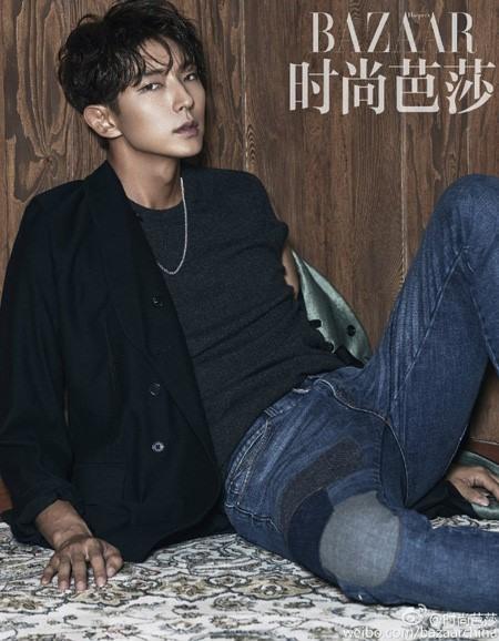 Lee Jun Ki lạnh như băng trên tạp chí Harper Bazaar - Ảnh 4.