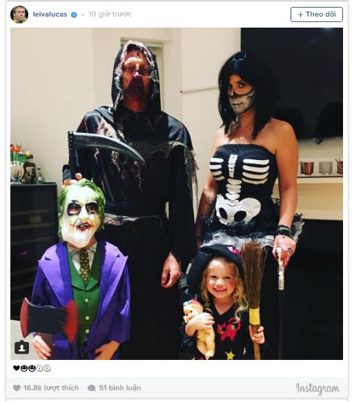 Dàn sao Liverpool cùng hóa ác nhân trong tiệc Halloween - Ảnh 5.