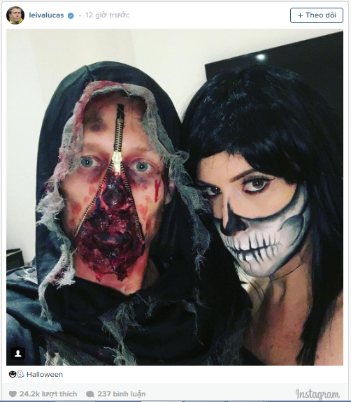 Dàn sao Liverpool cùng hóa ác nhân trong tiệc Halloween - Ảnh 4.