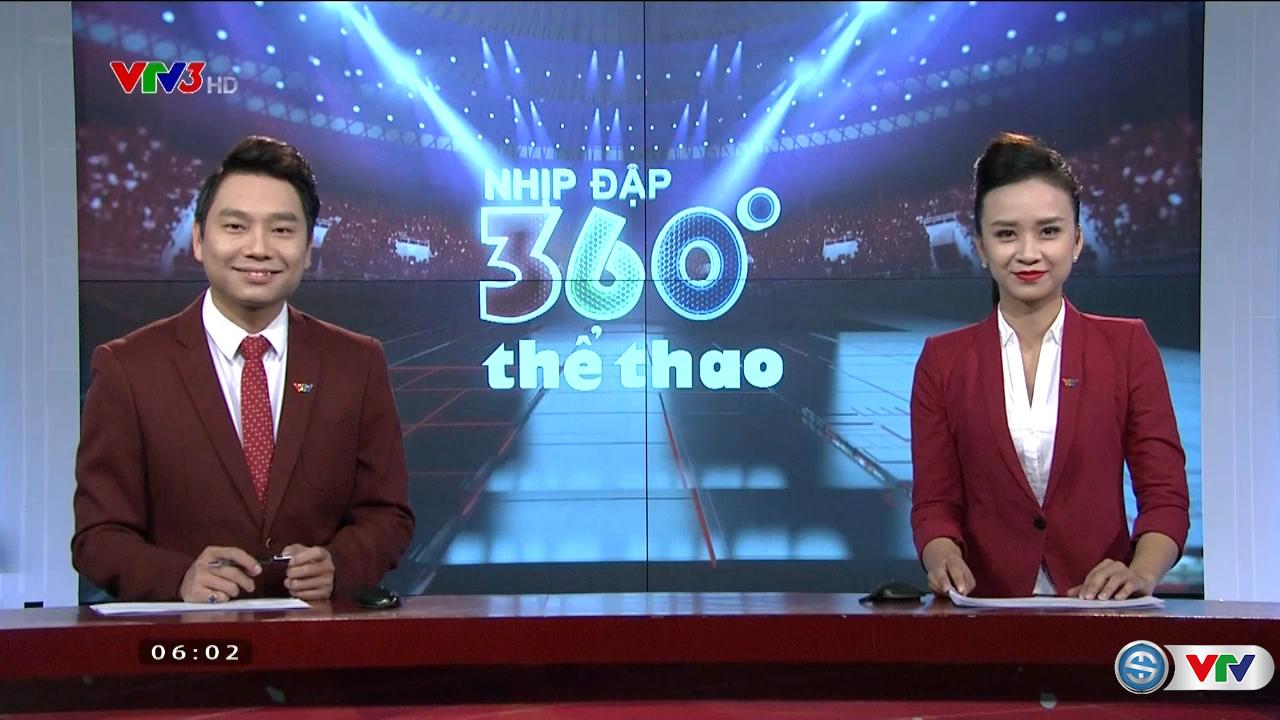 Nhịp đập 360 độ thể thao - 09/11/2016 - Video đã phát trên VTV-ONLINE |  VTV.VN