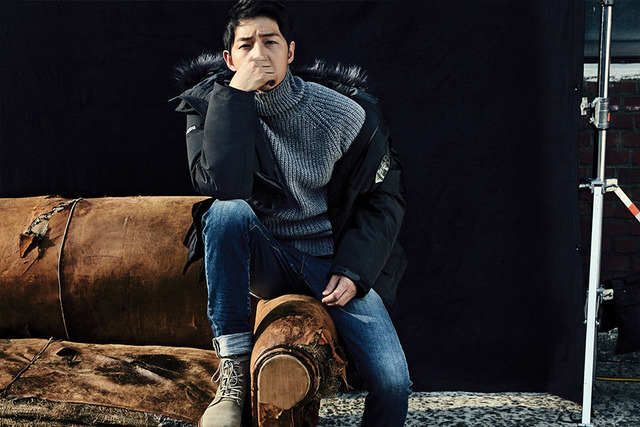 Mùa đông ấm áp với mỹ nam Song Joong Ki - Ảnh 5.