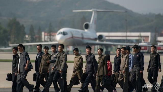Triển lãm hàng không quốc tế lần đầu tiên tại Triều Tiên - Ảnh 1.