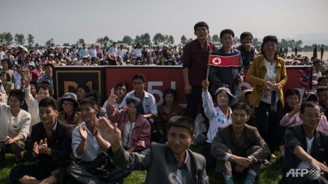 Triển lãm hàng không quốc tế lần đầu tiên tại Triều Tiên - Ảnh 4.