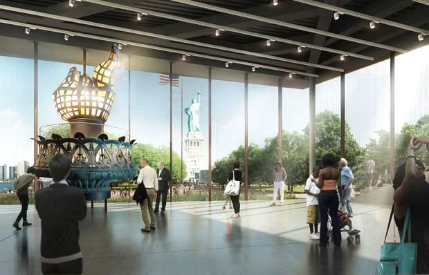 Mỹ khởi công Bảo tàng tượng Nữ thần Tự do trị giá 70 triệu USD - Ảnh 4.