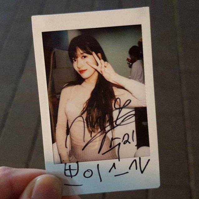 Suzy gây sốc khi chi tiền túi mua quà khủng tặng fan - Ảnh 2.