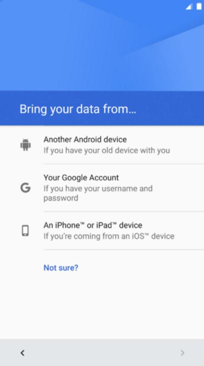 """Android 7.0 hỗ trợ người dùng iPhone """"làm lại từ đầu"""" trên máy Android - Ảnh 1."""