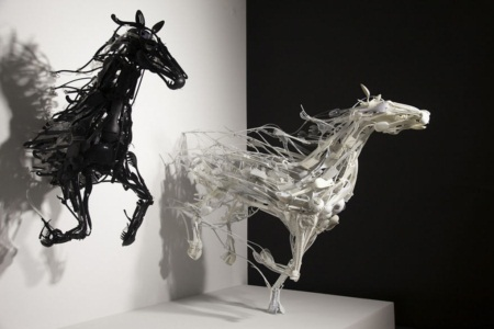 Ngắm bộ sưu tập loài vật 3D được sáng chế từ... nhựa tái chế - Ảnh 7.