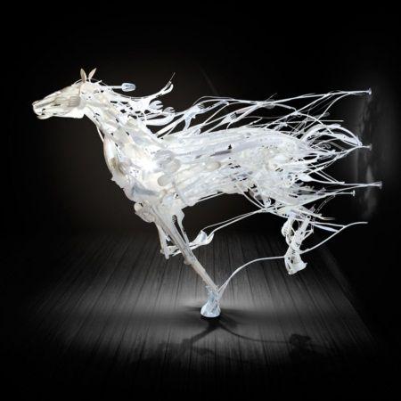 Ngắm bộ sưu tập loài vật 3D được sáng chế từ... nhựa tái chế - Ảnh 6.