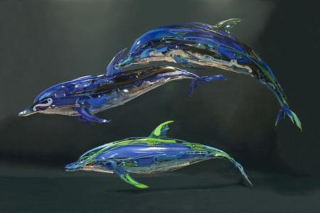 Ngắm bộ sưu tập loài vật 3D được sáng chế từ... nhựa tái chế - Ảnh 5.