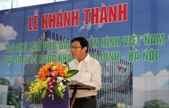Khánh thành tòa nhà làm việc của Đài THVN tại số 3/84 Ngọc Khánh - Ảnh 1.