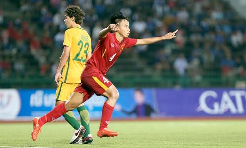 U16 châu Á 2016: U16 Việt Nam ngược dòng đánh bại U16 Australia - Ảnh 2.