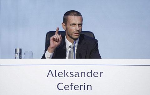 Aleksander Ceferin chính thức trở thành chủ tịch UEFA - Ảnh 2.